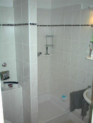 dusche gemauert ohne t r. Black Bedroom Furniture Sets. Home Design Ideas